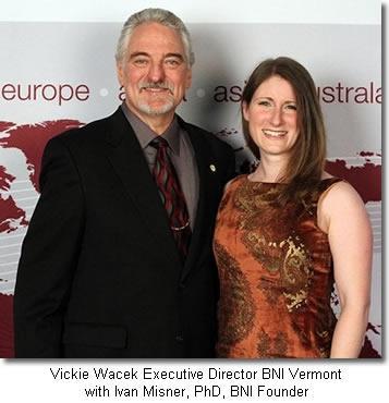 Vickie Wacek, Executive Director BNI Vermont